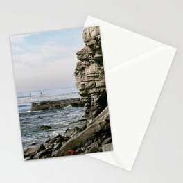 Pacific Ocean Stone Water Front  Stationery Cards