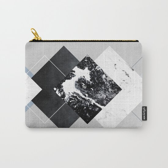 Geometric Textures 5 Carry-All Pouch