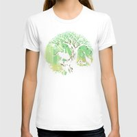 king T-shirts featuring The jungle says hello by Picomodi