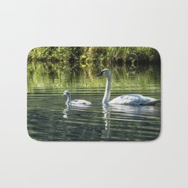 Cygnet with Father Bath Mat