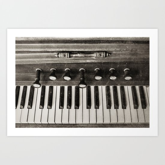 At the Keys Art Print