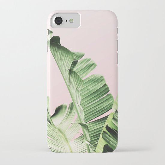Banana Leaf on pink by mydream