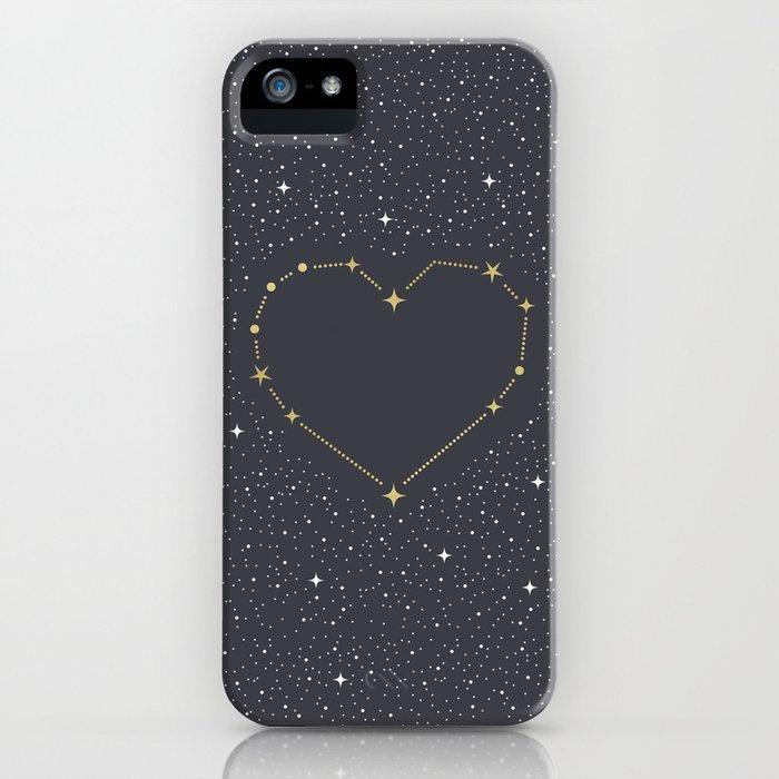 Heart Constellation iPhone Case