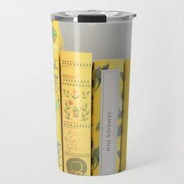 Shelfie in Yellow Travel Mug