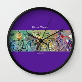 Bicycle Therapy Wall Clock