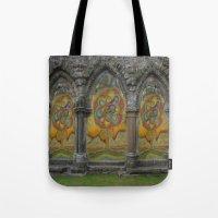 doors Tote Bags featuring Doors by Nicholas Bremner - Autotelic Art