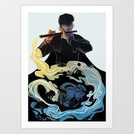 Wit Art Print