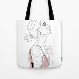 Blush Beauty Tote Bag