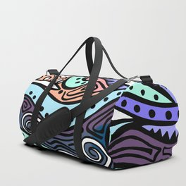 Crashing Waves During Day Duffle Bag