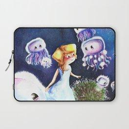 Jellyfish in the sky Laptop Sleeve