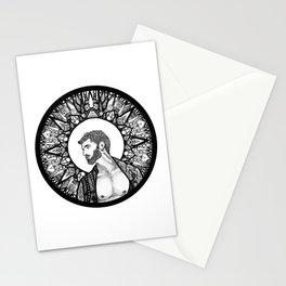 Halo Man Stationery Cards