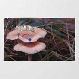 Alice in Wonderland - Caterpillar Rug