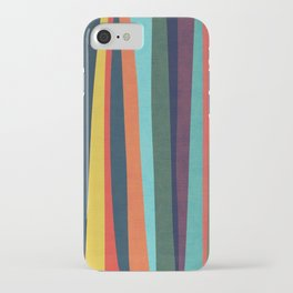 Mid-century zebra iPhone Case