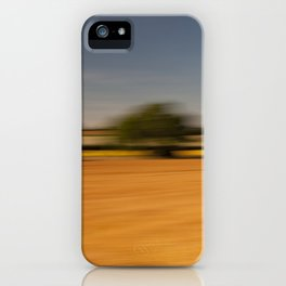 Moving Linseed iPhone Case