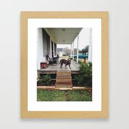 Pit love Framed Art Print