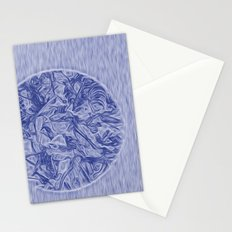 abstract world Stationery Cards