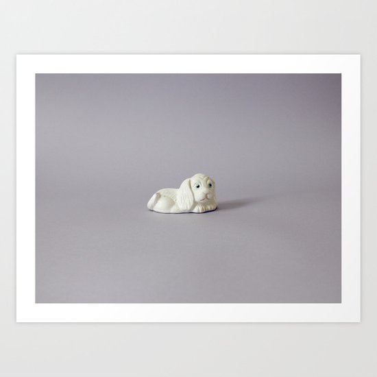 New White Art Print