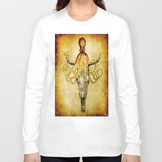 The Mystic Octopus Long Sleeve T-shirt