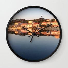 croatian island Wall Clock