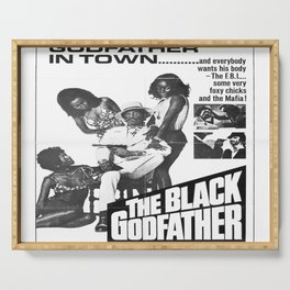 The Black Godfather Serving Tray