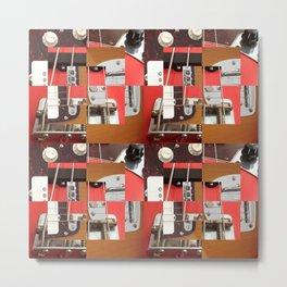 Sound Quilt Block Metal Print