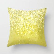 Glitteresques IV:X Throw Pillow