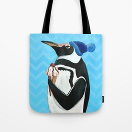 Genial Penguin from Animal Society Tote Bag