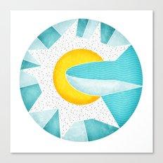 Sun is Rising Canvas Print