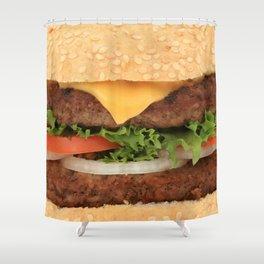 Burgerz Shower Curtain