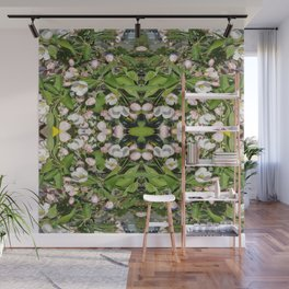 FloweredRing Wall Mural
