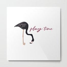 Play time Metal Print