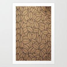 Lots-o-Leaves Art Print