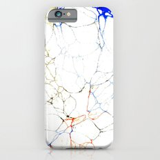 Marbled Blue Veins iPhone 6s Slim Case