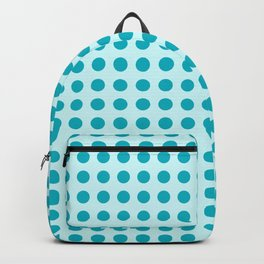Pappy Place Polka Dots in Blue Backpack
