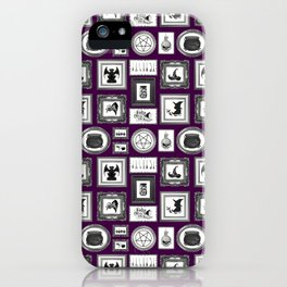 WITCHY WALLS iPhone Case