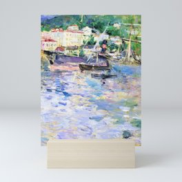 12,000pixel-500dpi - Berthe Morisot - The Port of Nice - Digital Remastered Edition Mini Art Print