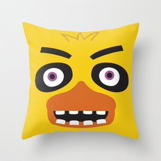 Chica, FNAF Throw Pillow