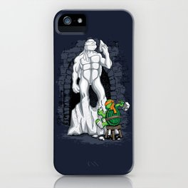 Mikey's David iPhone Case