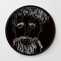 the who Wall Clocks featuring Who by sladja