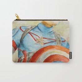 Capt America - Fictional Superhero Carry-All Pouch