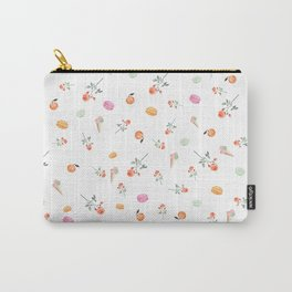 ROSES & MACARONS Carry-All Pouch