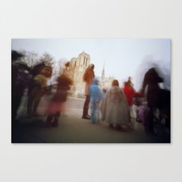 Our Lady + Kids Canvas Print