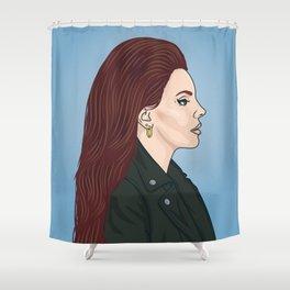 Lana Portrait Shower Curtain