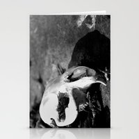 beaver Stationery Cards featuring Beaver Remains by Ariana Buck