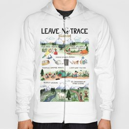 Leave No Trace Guidelines Hoody