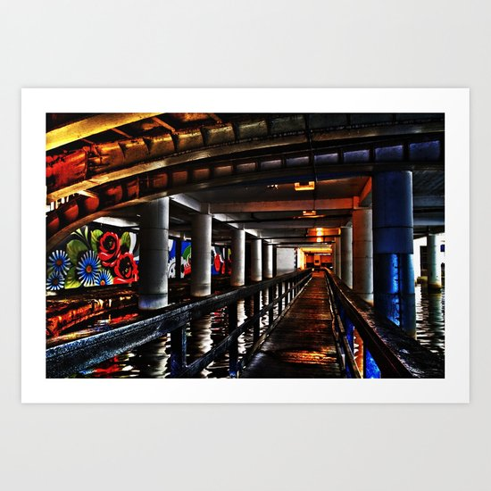 Under Piccadilly Art Print