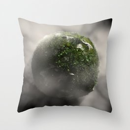 Planet #004 Throw Pillow