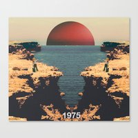 1975 Canvas Prints featuring 1975 by RICCARDO CAPPELLUTI