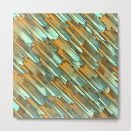 Rusty edges Metal Print