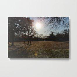 Sun in the morning Metal Print